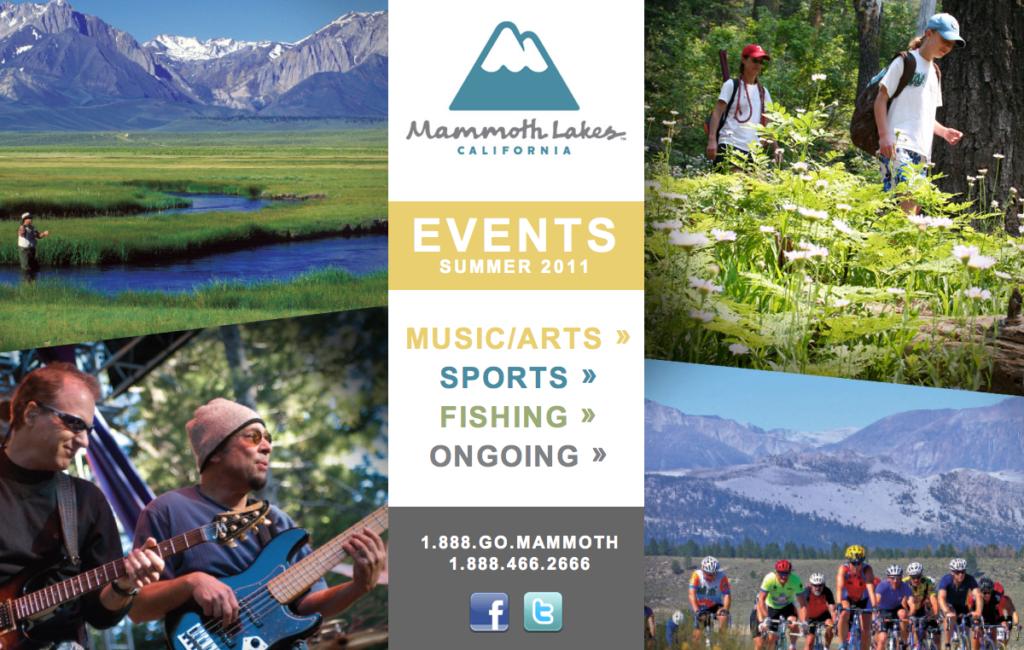 Mammoth Festivals Landing Page
