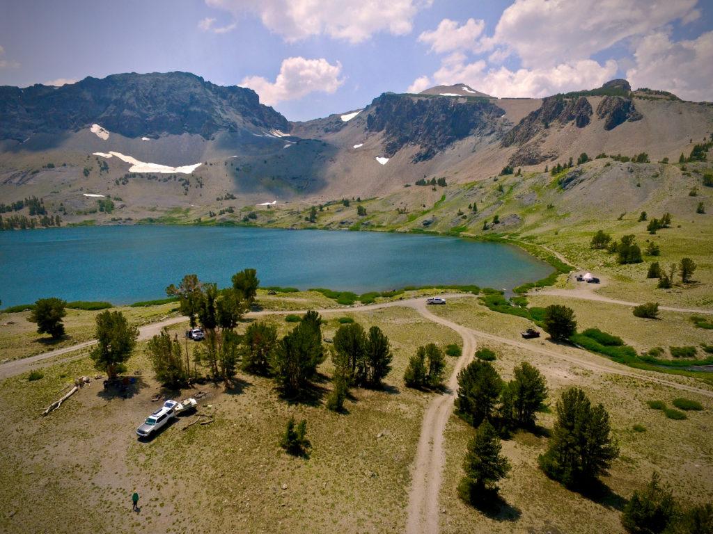 Leavitt Lake Aerial Photo