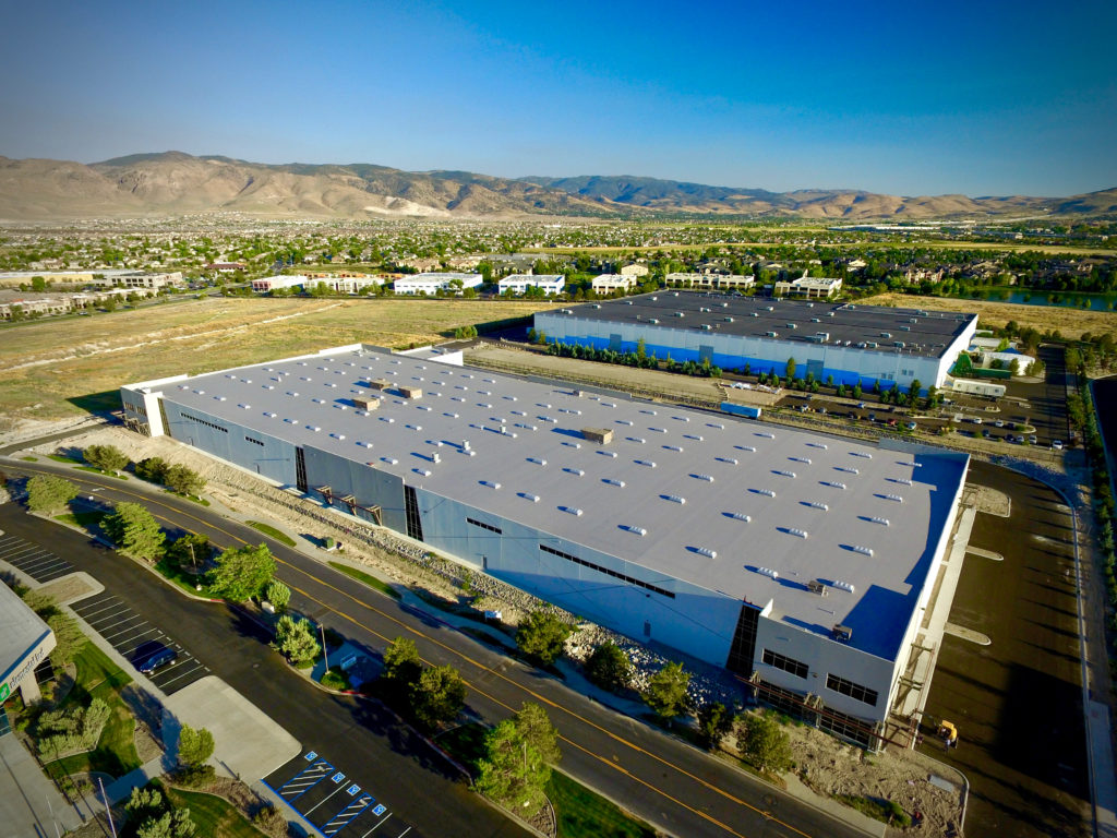 Reno commercial real estate aerial photography